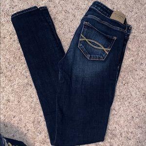 A&F skinny jean size 0 regular